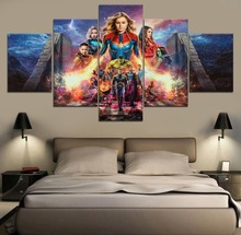 HD Print Painting Avengers Endgame Movie Science Fiction Cartoon Paintings on Canvas Wall Art for Home Decorations Artwork