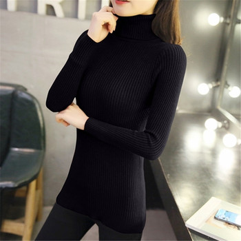 Solid Women Sweaters And Pullovers Slim Knitted Pullover Female Tops Spring&Autumn Long Sleeve Jumper Sweater pull femme