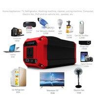 220 V/300 W Ad Alta Potenza Esterna Portatile UPS di Alimentazione Di Emergenza Generatore Solare Auto Auto di Emergenza della Banca di Potere con Display