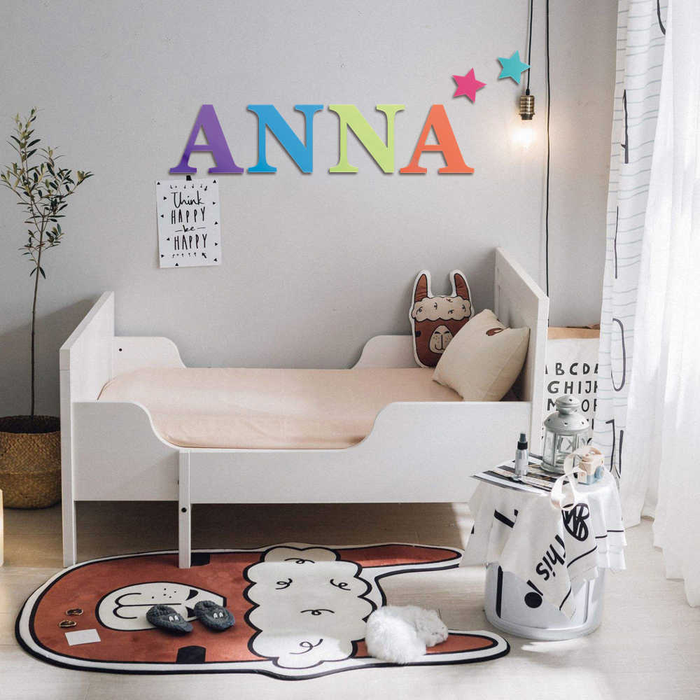 8 16 Large Letter Wall Decor Wooden Letters Playroom