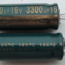 Компьютерные конденсаторы для материнской платы вся серия 16 v 3300 мкФ 3300 uf электролитический конденсатор