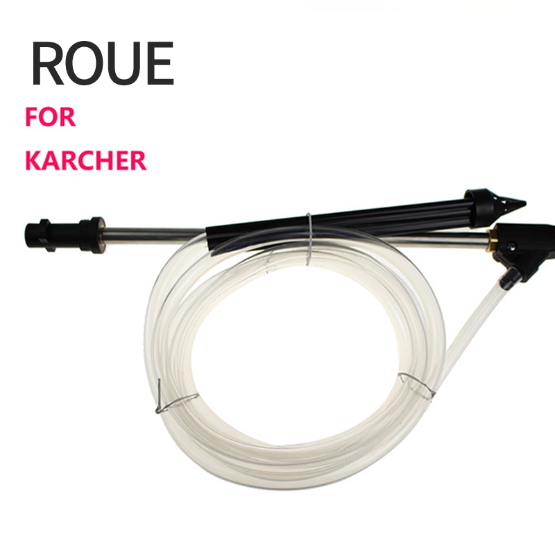 ROUE Sand And Wet Blasting Kit Hose With High Quality Of And Wet Of Karcher Gun Suit For K1-k9 With Ceramic Nozzle cw025 roue sand and wet blasting kit hose with high quality of and wet of karcher gun suit for k1 k9 with ceramic nozzle cw025 a