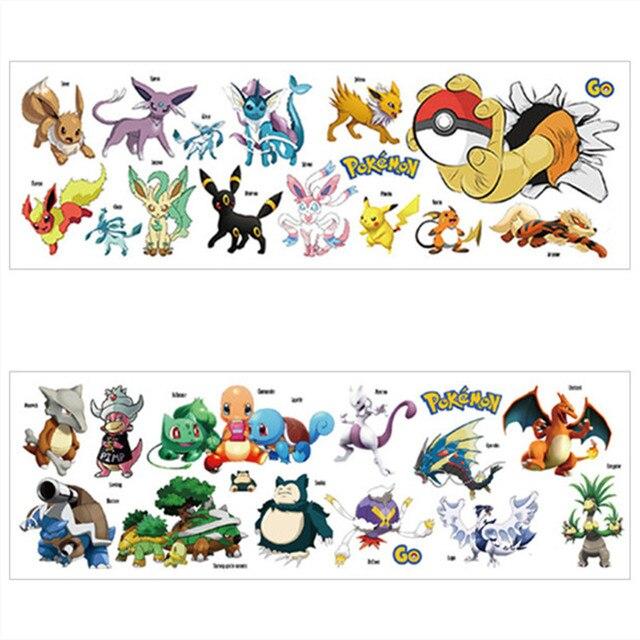 908891ce3 € 2.51  Bebé favorito 3d Pokemon Pikachu juego calcomanías de pared vinilo  pegatinas niños habitación decoración de guardería cartel de ...