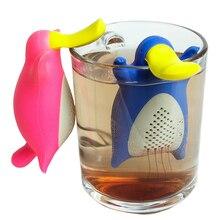 Silicone Platypus Shape Tea Infusers Kitchen Gadget Loose Tea Leaf Tea Strainer
