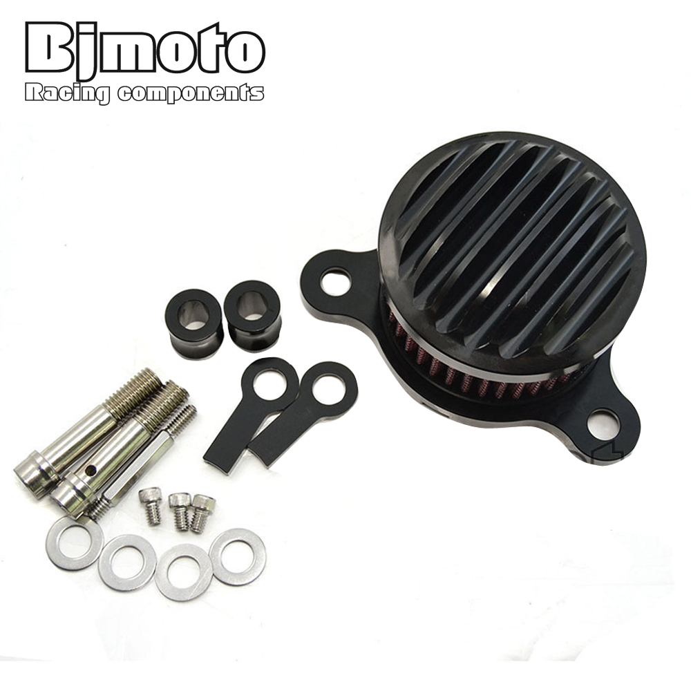 BJMOTO Hot Sale Aluminum Motorcycle Air Cleaner Intake Filter System for Harley Sportster 2004-2014 XL 883/1200