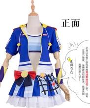 Anime Lovelike Tennis Awakening All Member Tojo Eli Hanayo Umi Maki  Minami Honoka Nico Rin Cosplay Costume Lovely Suits