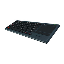 Logitech K830 подсветкой зарядки отличное сочетание HTPC беспроводной bluetooth touch десять метров мышь литиевая клавиатура домой