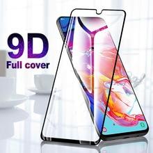 9D Vetro Temperato Per Samsung Galaxy A10 A20 A30 A40 A50 Protezione Dello Schermo per Samsung A 10 20 30 40 50 pieno colla Pellicola Protettiva