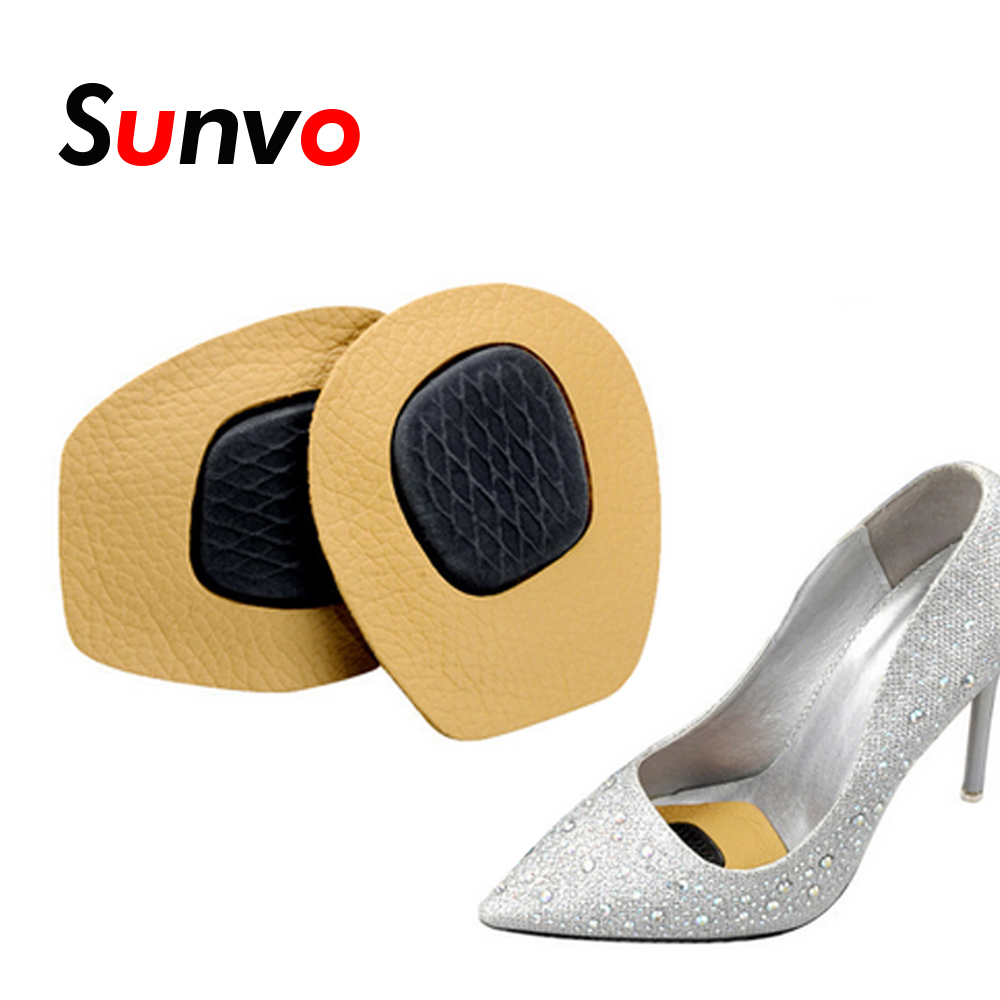 Sunvo High Heel Shoes Forefoot Cushioning Insoles Comfortable Massage Heel Pad  For Forefoot Pain Blister Relieve Insert Cushion