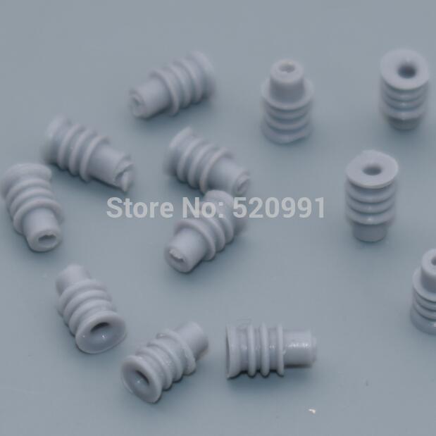 Shhworld Sea 20 шт 1,5 мм 3,5 мм водонепроницаемые уплотнения автомобильные Соединители обжимные клеммы 964286-1 964274-2 964296-1 963900-1 964265-2 - Название цвета: grey seals 20pcs