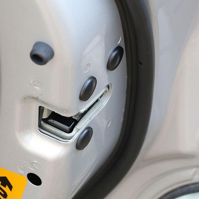 Carmilla 12 шт. замок двери автомобиля винт защиты Стикеры Водонепроницаемый Чехлы для peugeot 208 2008 3008 для Kia Sportage R KX5 QL K2