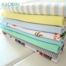 2018 Baby Towels 100% Cotton 8Pcs/Lot Newborn Boys Girls Washcloth Bath Childrens TowelNursing Towel Bibs Feeding