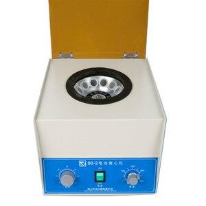 Image 1 - 80 2 الكهربائية الطارد المركزي للمختبر فصل فقاعة البلازما الطبية فصل قابل للتعديل توقيت وظيفة الطارد المركزي للمختبر