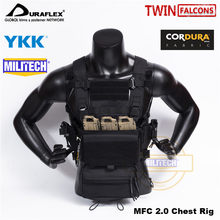 MILITECH TW Delustering MFC 2.0 BK Set CQC RRV MOLLE New MK3 Spirit Chest Rig Military Combat Assault Tactical Hunting Vest