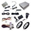 Novo PKE Sistema de Alarme de Carro Com Sensor de Choque Remoto Push Start botão de Arranque Auto Fechamento de Porta Central Usado Para Todos Os 12 v Carros