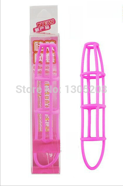 Male sex products Penis Enlargement,delay ring silicone nets,Penis Ring Enhanced Sweet Cage,silicone net cock ring