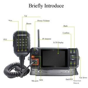 Image 2 - 4G W2Plus 4G 네트워크 라디오 안 드 로이드 7.0 N60 워키 토키 AC 어댑터 및 자동차 충전기 케이블로 실제 ptt / Zello 작동