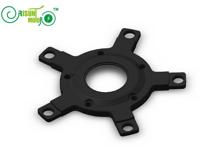 electric bicycle 130 bcd chainring spider adaptor gearing. Black Bedroom Furniture Sets. Home Design Ideas