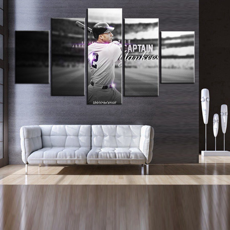 Home Design Ideas. new york yankee logo wall in emmetts room ...