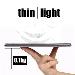 """Tablet etui z klapką etui na Huawei MediaPad T5 10 10.1 """"inteligentne budzenie uśpienia skóra fundas oznaczają pokrywa torba capa dla AGS2-W09/ w19/L03/L09"""