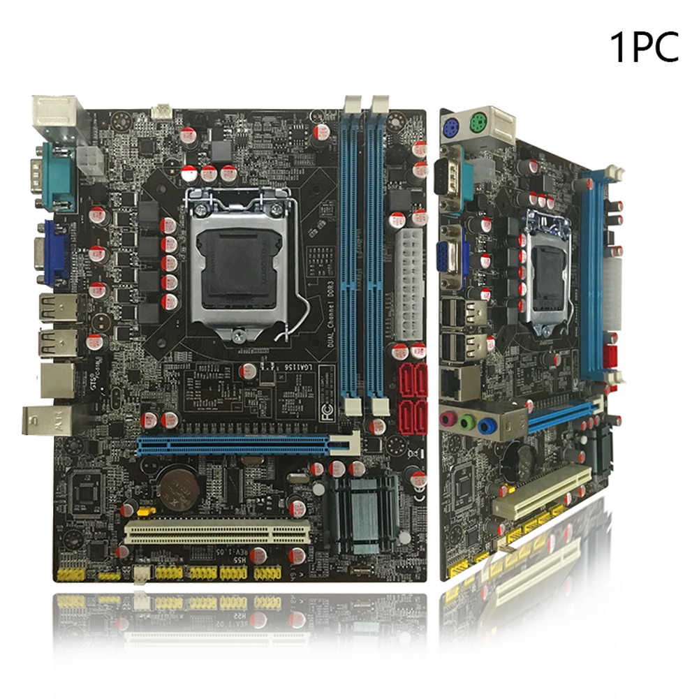 Kompatibilitas Tinggi CPU Komputer Motherboard USB Port Aksesoris Mini Kapasitas Memori Besar Dual Channel Intel Chipset Rumah