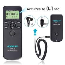 AODELAN WTR2 Wireless Shutter Release Timer Remote Control for Nikon Z6, Z7, Coolpix P1000, D850, D810, D700, D4, D5, D4s, D3100