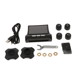 Image 5 - 1 Set Smart Car TPMS Tyre Pressure Monitoring System Digital LCD Display Alarm Systems Tyre Pressure Monitoring System