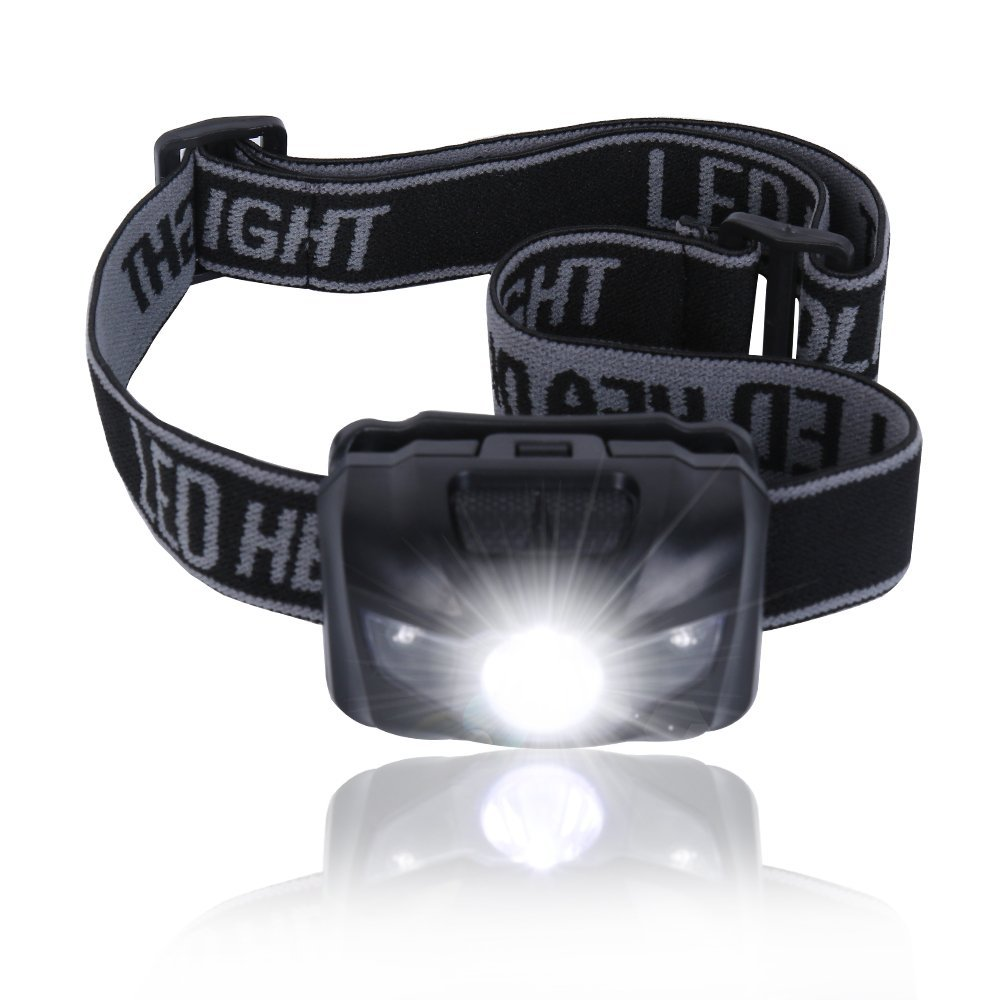3W 180 Lumen Super Bright 3 LED 4-mode Mini Headlight Headlamp Head Torch Flashlight Light for Camping Hunting Fishing Hiking boruit mini 800 lumen q5 led headlight 3 mode rechargeable zoomable headlamp white light for hunting fishing head torch lanterna