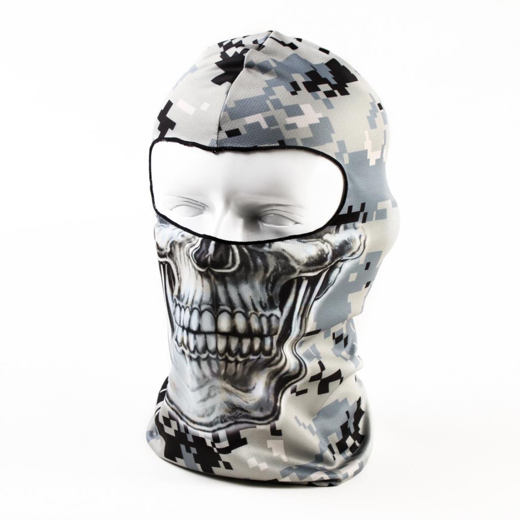 2016 Beanie New Hot Sale 3d Skull Ski Hood Hat Balaclava Full Face Mask Outdoor Sports