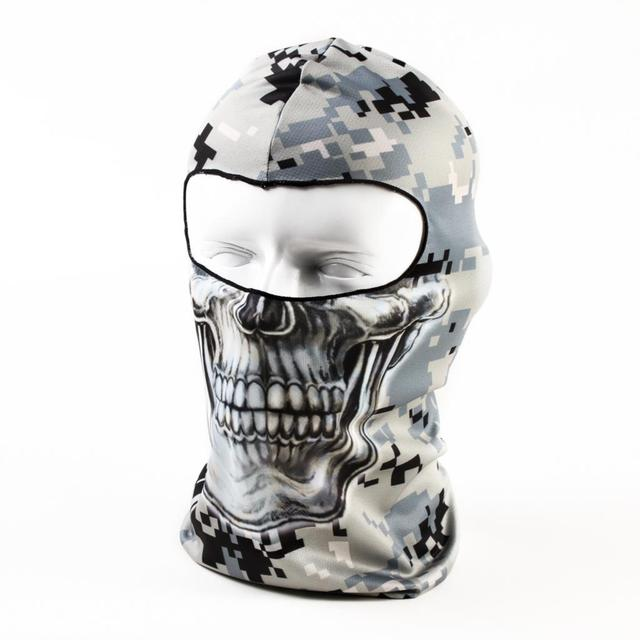 f5ee5915fca 2016 Beanie New Hot Sale 3d Skull Ski Hood Hat Balaclava Full Face Mask  Outdoor Sports Bicycle Cycling Motorcycle Masks Bb30
