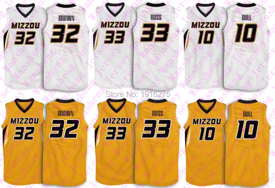 newest collection f79fa 5055c 10 Missouri Tigers jerseys Dominique bull # 32 Men's ...