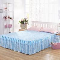 Bedspread Bed Skirt Ruffles bedding Bed sheet Cotton Pillowcase Home Decorative Twin/Queen/King Size