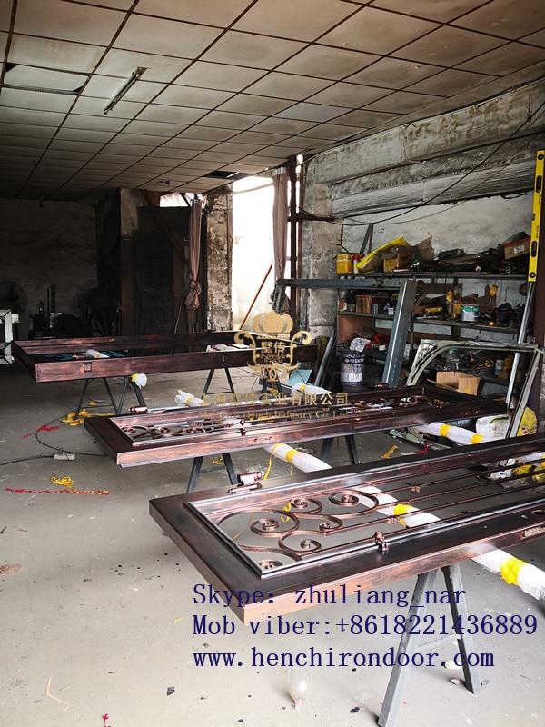 Hench 100% Steels Metal Iron Whole Sale Best Iron Doors