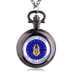 2016 новая мода Соединенные Штаты Маршал старинные карманные часы для мужчин мальчик подарок с цепочки и ожерелья цепи Relogio де Bolso
