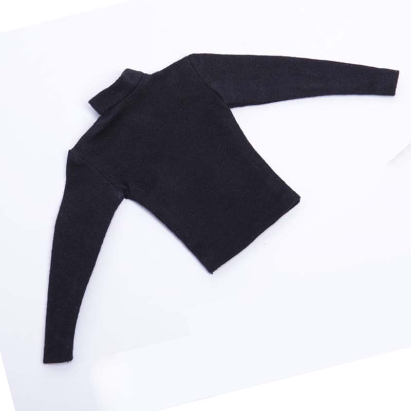 Long-Sleeve Clothing Action-Figure Doll-Body Black Male for 12-Doll-body/1:6/Action-figure/..