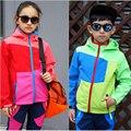 Водонепроницаемый ветрозащитный дети верхняя одежда детская одежда комплект флиса спортивный мягкий костюм мальчиков и девочек теплое пальто на 4 - 12 т