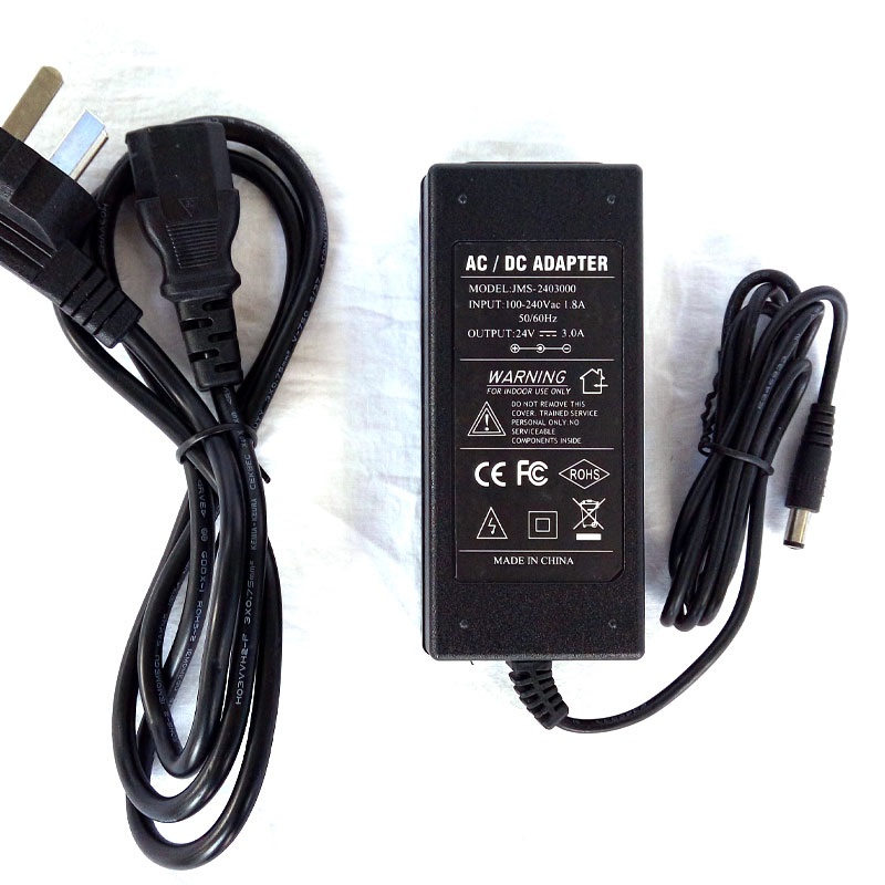 12V <font><b>24V</b></font> AC/<font><b>DC</b></font> <font><b>Adapter</b></font> Household Power Supply 5.5mm*2.1mm Male Socket Line Plug <font><b>DC</b></font> Pump Power Supplies image