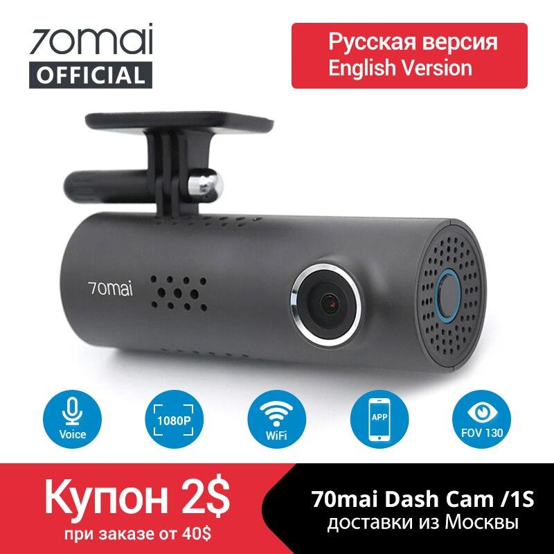 International 70mai Car DVR 1080HD Smart Dash board 70mai 1S Car Camera APP Control Driving Recoder