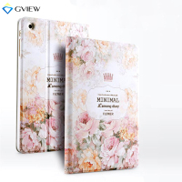 Gview Case For Ipad Mini 3 2 3D Embossed Luxury Designer Smart Stand Case 3D Embossing