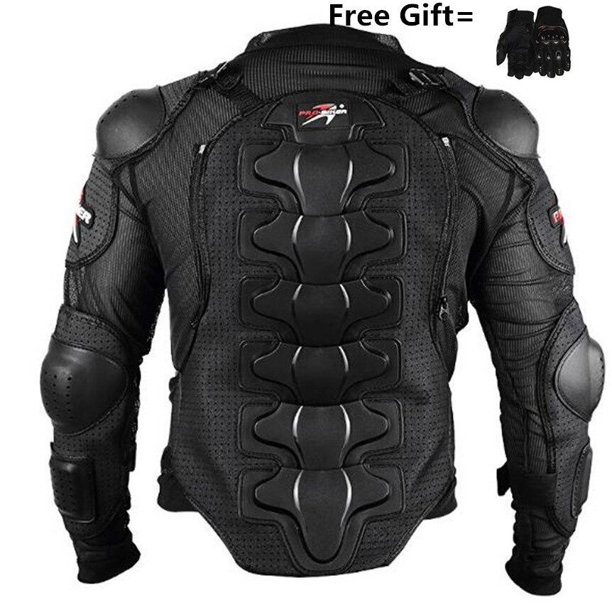 Motorcycle Jackets Motorcycle Armor Racing Body Protector Jacket Motocross Motorbike Protective Gear + motorcycle
