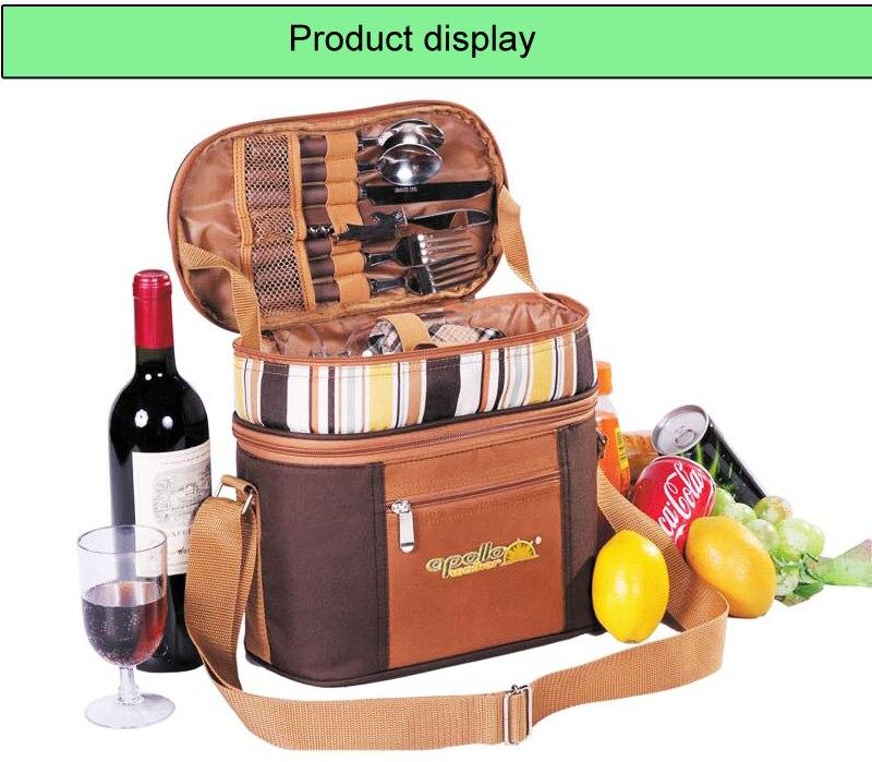 Multifunction bag refrigerator portable cutlery bag -0