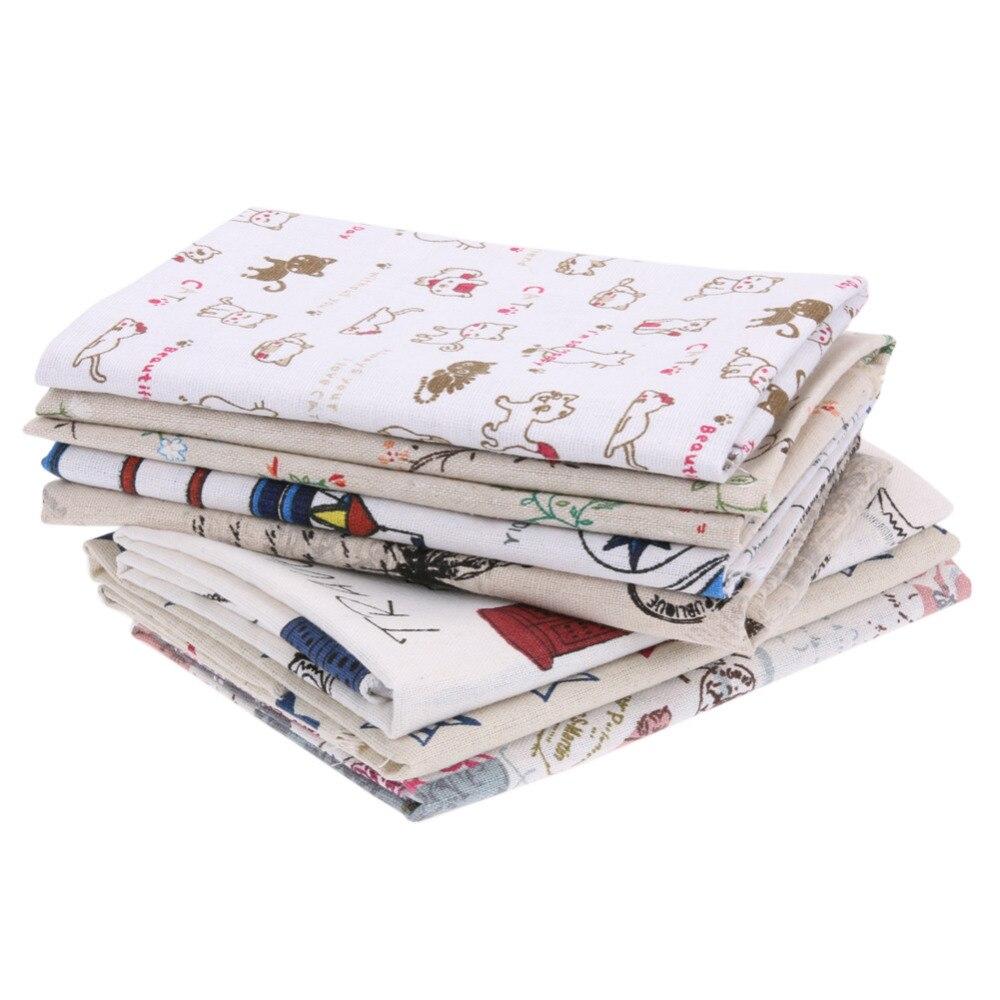 Cartoon Kat Dier Katoen DIY Naaien Craft Patchwork Quilten Kussen Apparel Handwerk Kids Thuis Textiel Doek Tissus