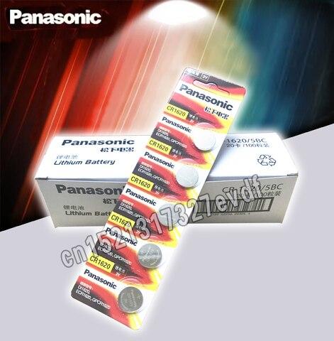 Bateria de Iões de Lítio Botão para Assista Produto Lote Originais Panasonic Cr1620 Pilhas 3v cr 1620 Calculadora Controle Remoto 100 Pçs –