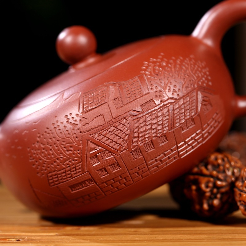 are recommended the teapot tea undressed ore dahongpao day garden pure handmade wholesale direct wechat business - 3