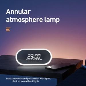 Image 3 - Baseus E09 altoparlante Bluetooth portatile con sveglia altoparlante Wireless musica Surround altoparlante per telefono PC Computer