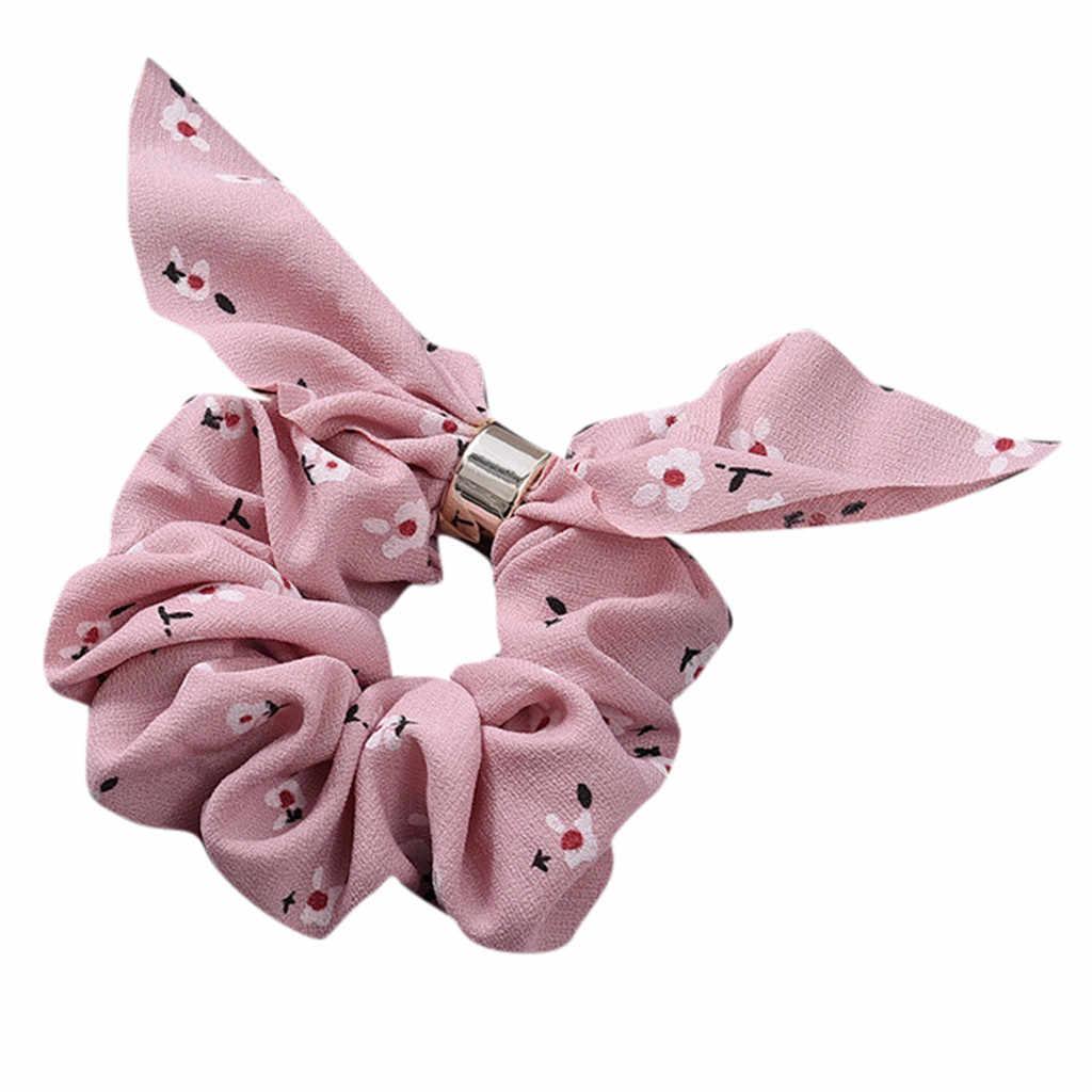 Diadema elástica para mujer, anillo de cuerda para el cabello, maquillaje, lazo, lavado de cara, máscara de baño para mujer, accesorios para el cabello con cola de caballo