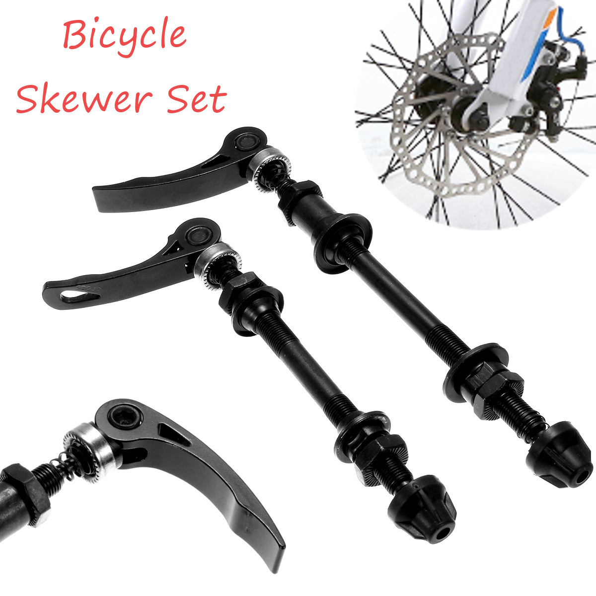 Bicycle Quick Release Axle Wheel Skewer Front