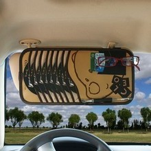 Multi function car CD clip Glasses clip Pen clip on sun shade cover CD package Vehicle