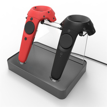 XBERSTAR Magnetic Dual Charger power Station Charging hub cradle Stand holder bracket For HTC VIVE Wireless Controller Charge
