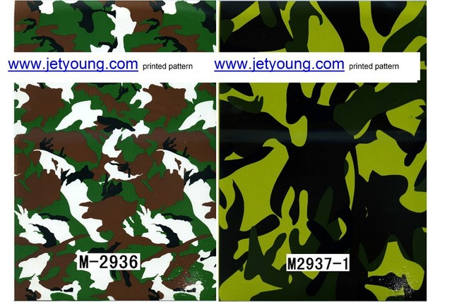 Water transfer film hydrographic film printed pattern film printing film Wooden Camouflage Carbon Fiber